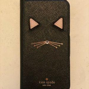 kate spade ♠️ cat iPhone X case